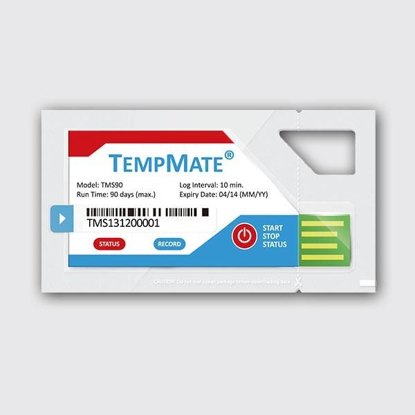 Termógrafo Digital Tempmate USB (un solo uso)