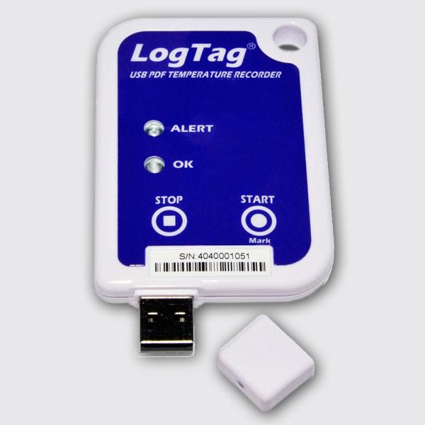 Termógrafo Digital LogTag USRIC-4 USB (um só uso)