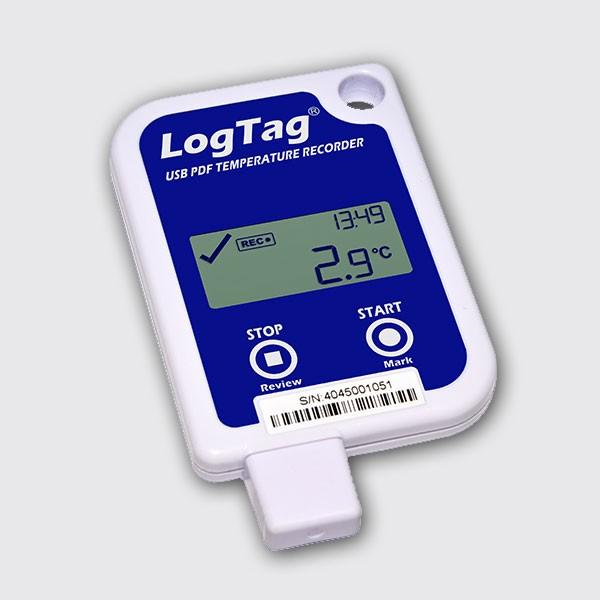 Termógrafo Digital LogTag USRID-16 USB (un solo uso)