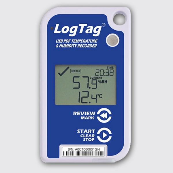LogTag UHADO-16 Temperature Humidity Recorder